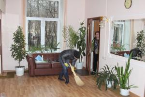 Одно из помещений в социальном центре Донского района