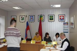 Одно из заседаний призывной комиссии в Донском районе