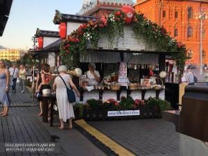 Самая большая площадка фестиваля открылась на Манежной площади