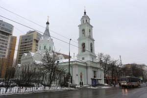Церковь на улице Шаболовка в ЮАО