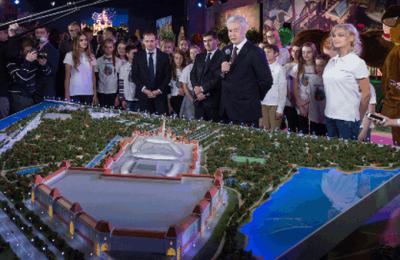 Ведется строительство самого крупного в мире парка развлечений — Собянин