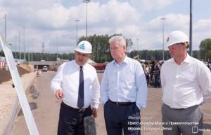Сергей Собянин рассказал о дорожном строительстве в новых округах Москвы