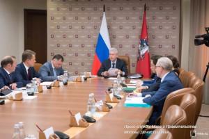 Сергей Собянин провел очередное заседание правительства Москвы