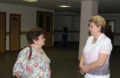 Татьяна Кабанова регулярно общается с жителями муниципального округа