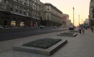 Улица Тверская в Москве