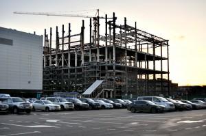 Промзона бывшего завода ЗИЛ