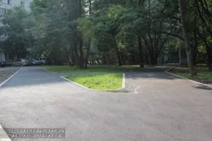 В Донском районе засчет парковок восстановили асфальт