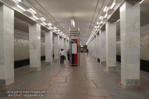Станция метро Ленинский проспект