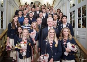 Сергей Собянин встретился с олимпийцами  из Москвы