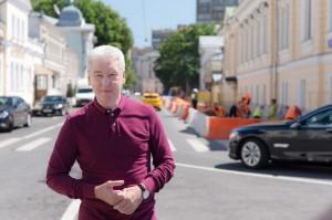 Сергей Собянин рассказал о благоустройстве в центре Москвы
