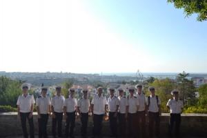 Студенты МГАВТа во время экскурсии
