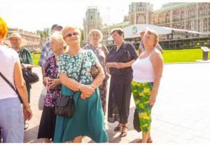 Пенсионеры Донского района на экскурсии