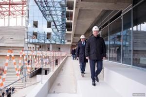 Сергей Собянин рассказал об открытии стадиона ЦСКА в Москве