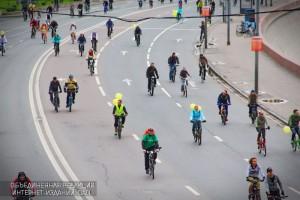 Осенний велопарад приуроченный ко Всемирному дню без автомобиля