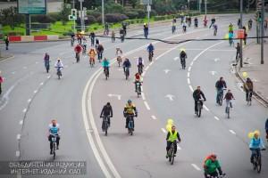 Участники велопарада