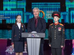 Сергей Собянин на фестивале в Москве в прошлом году