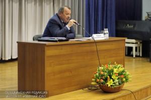 Встреча префекта ЮАО Алексея Челышева с жителями Нагатинского затона