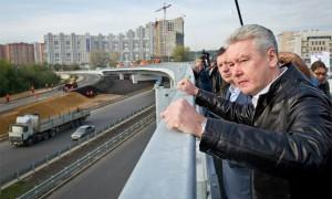 Сергей Собянин рассказал об открытии новой эстакады на юге Москвы