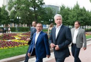 Мэр Москвы Сергей Собянин рассказал об открытии Олимпийского парка после реконструкции