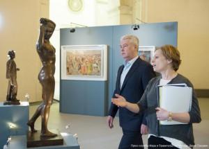 Сергей Собянин рассказал об открытии очередной выставки в Москве