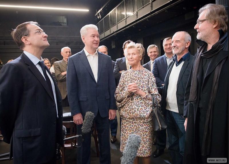 Один изсамых популярных московских театров получил новую сцену— Собянин