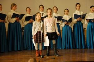 Выступление хора Донского монастыря
