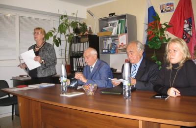 Заседание Совета ветеранов в Донском районе