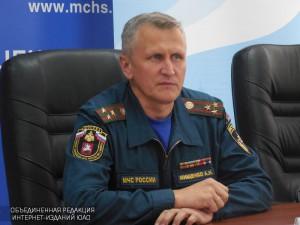 Начальник Главного управления МЧС по Москве Андрей Мищенко
