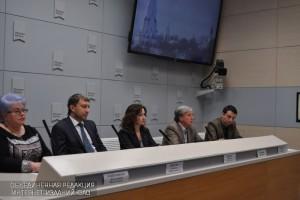 Пресс-конференция с директором Московского объединенного музея-заповедника Сергеем Худяковым