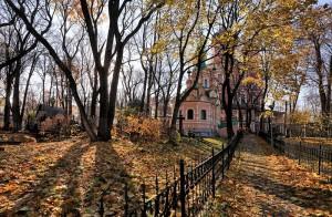 Территория Донского монастыря