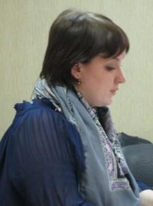 На заседании выступила Ольга Сафонова