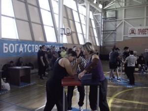 Соревнования по армспорту  в ЮАО