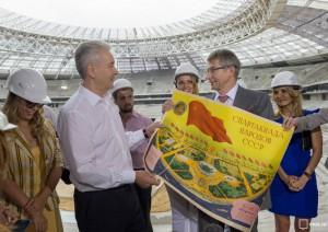 """Собянин рассказал о реконструкции стадиона """"Лужники"""""""