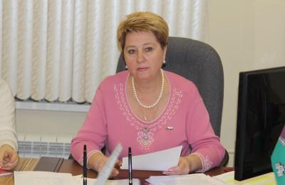 Глава муниципального округа Татьяна Кабанова