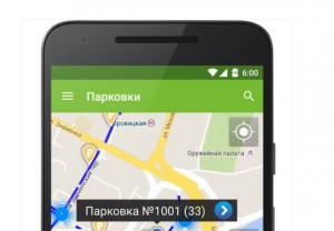 """Приложение """"Парковки Москвы"""""""