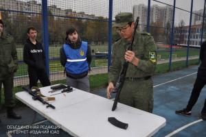 Военно-патриотическое мероприятие прошло в Донском районе