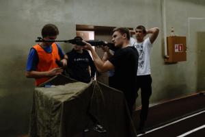 Студенты соревнуются в стрельбе