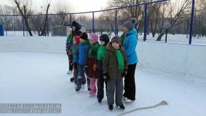 Дети на катке в ЮАО