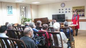 Пенсионеры из Донского района