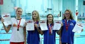 Участники Первенства Москвы по плаванию