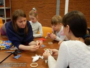 Дети на занятиях в ЮАО