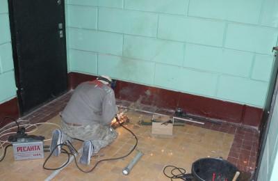 Работы во время капитального ремонта