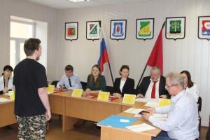 Заседание призывной комиссии в Донском районе