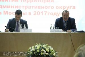 Префект Алексей Челышев встретился с жителями округа