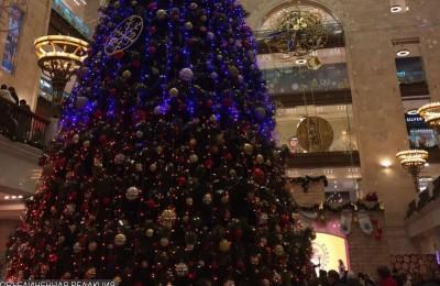 Праздничная елка в ЮАО