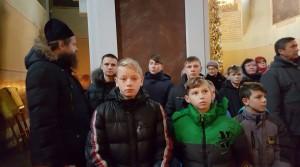 Воспитанники Карабановского детского дома на экскурсии в монастыре