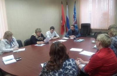 Заседание Координационного совета Донского района