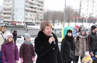 Татьяна Кабанова на детском празднике