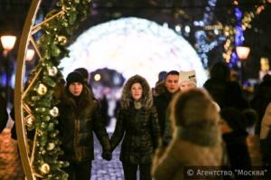 Праздничные гуляния в Москве