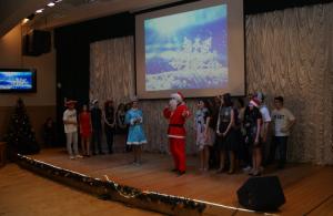 Студенты МГАВТ на новогоднем мероприятии
